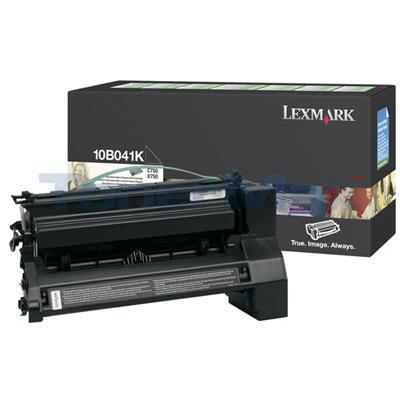LEXMARK C750 RP PRINT CART BLACK